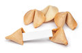 Fortune Cookie Fortunes Stock Images