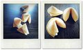 Fortune cookies table top Royalty Free Stock Image