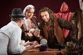 Fortune Teller Scam Royalty Free Stock Photo