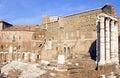 Forum of Augustus Stock Photo