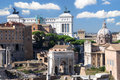 Forum Romanum, Rome, Italy Royalty Free Stock Photos