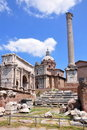 Forum Romanum, Rome, Italy Stock Images