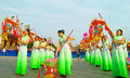 Foshan Autumn Parade Royalty Free Stock Photography