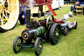 Foster miniature steam engine elvaston derbyshire uk july a named elf used for transport for workers at the elvaston country Stock Photography