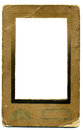 Foto frame old paper picture on a white background Royalty Free Stock Images