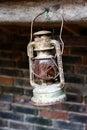 Fotografia antykwarski lampion Obraz Stock