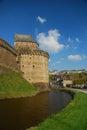 Fougères castle, Brittany, France Stock Image