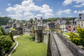 Fougeres City Wall Royalty Free Stock Photo