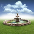 Stock Photography Fountain