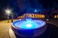 Fountain at Balboa Park Royalty Free Stock Photo