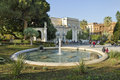 Fountain in the city center catania italy april of catania sicily italy on april Stock Photography
