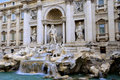 Fountain de Trevi in Rome Stock Image