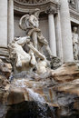 Fountain di Trevi, Rome Stock Photo