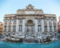 Fountain di Trevi in Rome Royalty Free Stock Photo