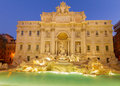 Fountain di Trevi in Rome, Italy Royalty Free Stock Photo