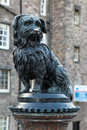 Fountain erected in honour of greyfriar s bobby uk Royalty Free Stock Photos