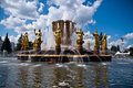 Fountain Friendship of Nations Royalty Free Stock Photography