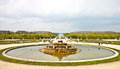 Fountain in the garden of Versailles palace Stock Photography