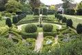 Fountain Hedge Maze Royalty Free Stock Photo
