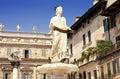 Fountain Lady Verona Royalty Free Stock Photo