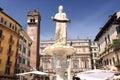 Fountain Lady Verona in Verona Royalty Free Stock Photo