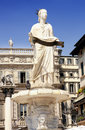 Fountain Lady Verona in Verona Royalty Free Stock Photo