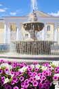 Fountain in Lipetsk city, Russia Stock Image