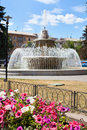 Fountain in Lipetsk city, Russia Royalty Free Stock Photos