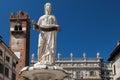 Fountain Madonna Verona Royalty Free Stock Photo