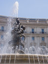 Fountain of the naiads on piazza della repubblica Stock Photo