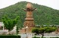 Fountain at Nanshan Tourist Area China