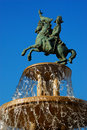 Fountain Napoleon Royalty Free Stock Photography