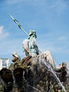 Fountain of neptune berlin germany in in Royalty Free Stock Image
