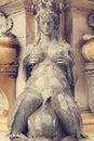 Fountain of Neptune. Bologna. Italy Royalty Free Stock Photo