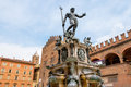 Fountain of Neptune. Bologna, Italy Royalty Free Stock Photo