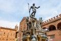 Fountain of Neptune. Bologna, Italy Royalty Free Stock Photo
