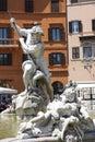 Fountain of Neptune in Rome