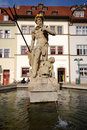 Fountain of Neptune (Weimar) Royalty Free Stock Photography