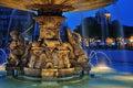 Fountain At Neues Schloss Squa...