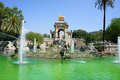 Fountain of Parc de la Ciutadella, Barcelona, Spa Royalty Free Stock Images