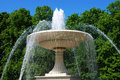 Fountain in park Royalty Free Stock Photography