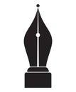 Fountain pen icon Royalty Free Stock Photo