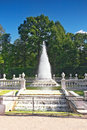 Fountain Pyramid  in Pertergof Royalty Free Stock Photography