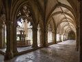 Fountain Royal Cloister of the Batalha Monastery Royalty Free Stock Photo