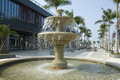 Fountain, Sanya Royalty Free Stock Photography