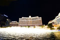 Fountain show at Bellagio hotel and casino