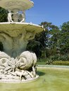 The fountain on the southern or Carlton Gardens Royalty Free Stock Images
