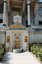 Fountain of sultan ahmed iii in istanbul turkey Royalty Free Stock Image