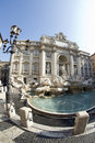 Fountain of trevi rome italy Royalty Free Stock Photography