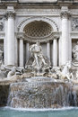 The fountain trevi in rome italy Royalty Free Stock Image